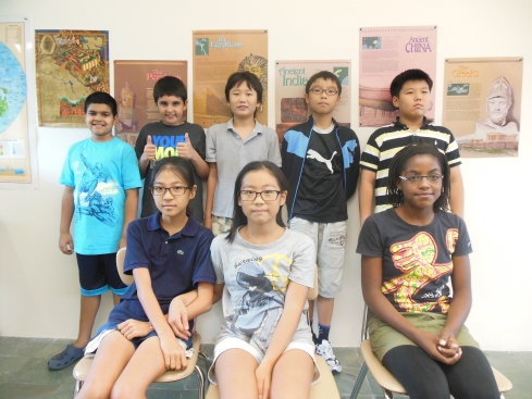 Mr. Martin's Advisory Class, August 7, 2013