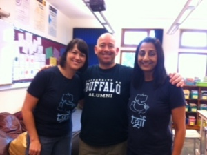 Mrs. Hall, Mr. Martin, & Ms. Jaya