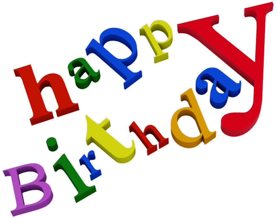 Happy Birthday Words Outline