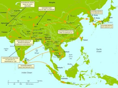 buddhism dispersion