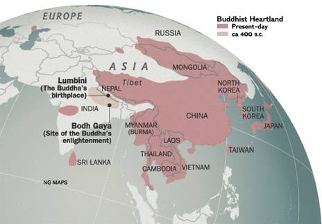 buddhist countries