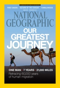 National Geographic - Dec. 2013 issue