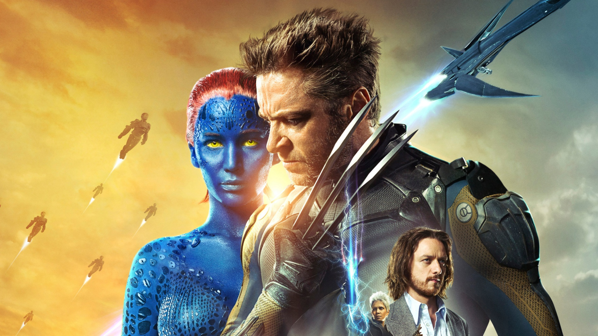 X Men Days Of Future Past Wallpaper: Linking To Thinking