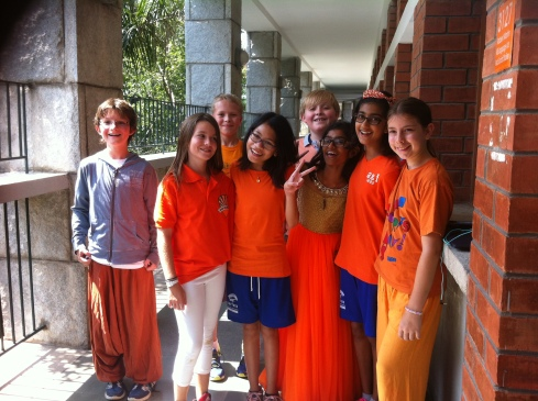 Orange Day (Photo by Ms. Jaya)