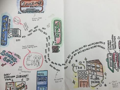 Tae Yeon's Map