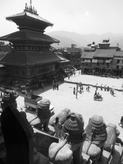 Batktapur Square (Photo by Rob Martin)