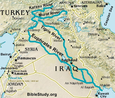Where is Mesopotamia  Linking to Thinking