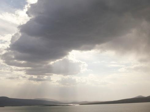 Big nature, puny borders: the Georgia-Turkey frontier. Photo by Paul Salopek.