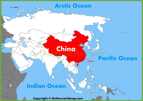 china-location-on-the-asia-map