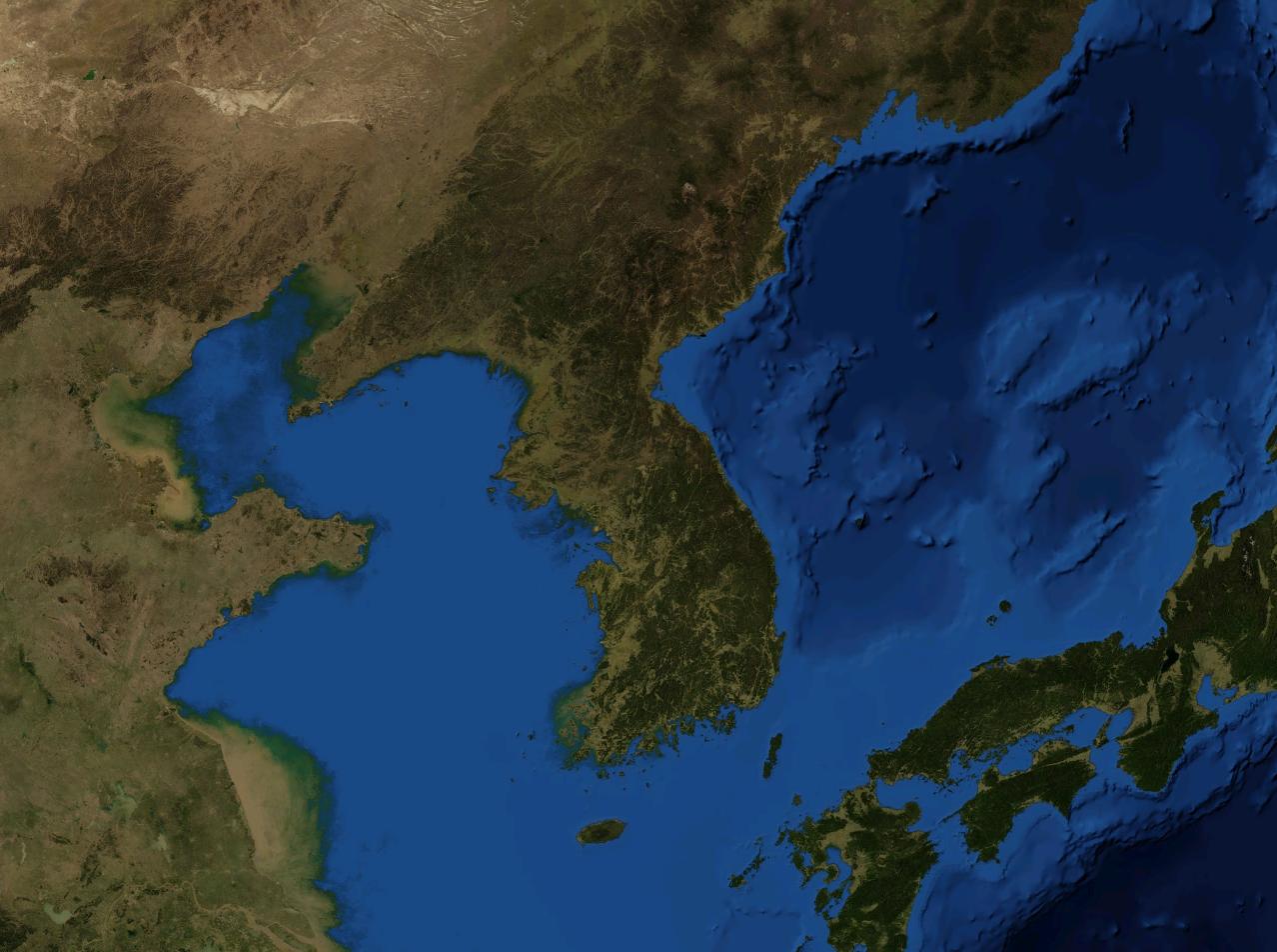 korean_peninsula_bathymetry