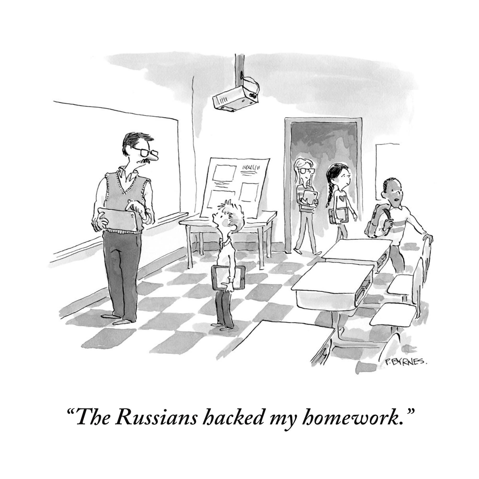 HW cartoon